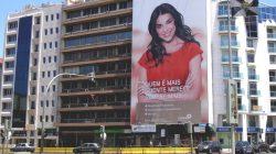 Lithoespaço | Painéis de publicidade num condomínio