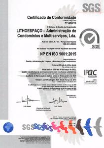 Certificação ISO Gestão Condomínios 2020