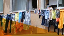 Estender roupa na varanda